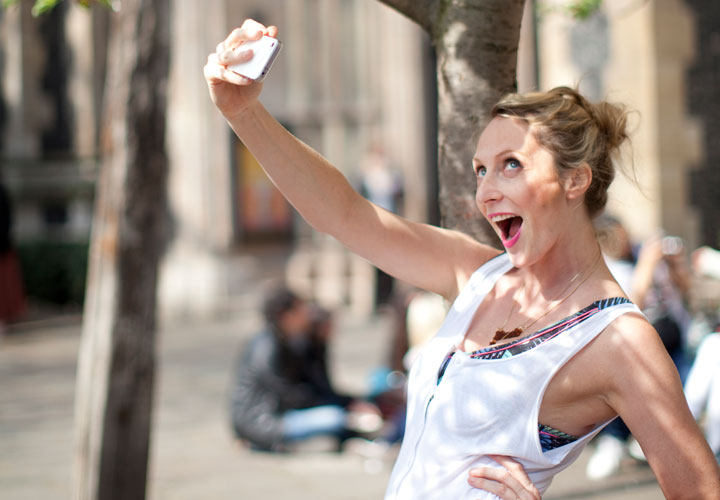 """Selfie"" - izraz ultimativne samodopadnosti."