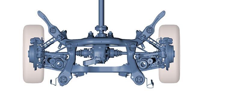 Ovako izgleda Multi-Link ovjes na BMW-u serije 1