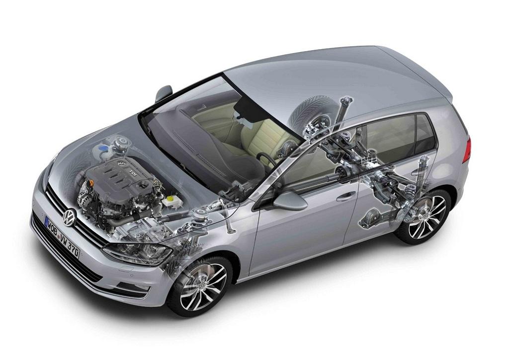 Volkswagen Golf sedme generacije prikazan s nešto više detalja...