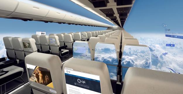 Zrakoplov s nevjerojatnim panoramskim pogledom.