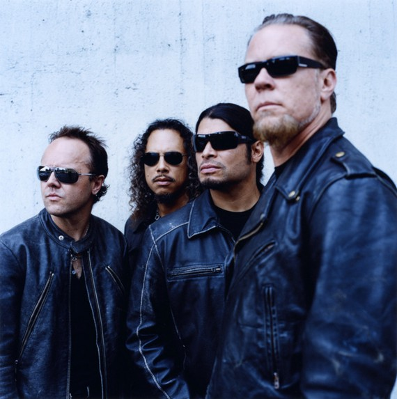 "James Hetfield i ostatak benda ""Metallica"""