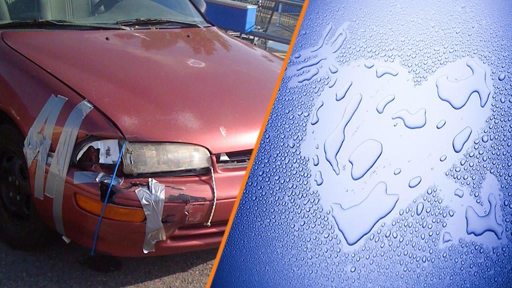 prljav vs cist automobil