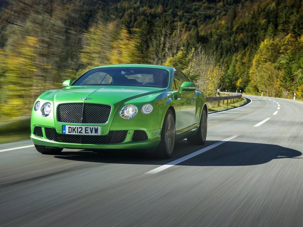 Zeleni Bentley
