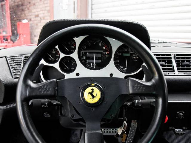 """Interijer je također """"posuđen iz Ferrarija F355"""