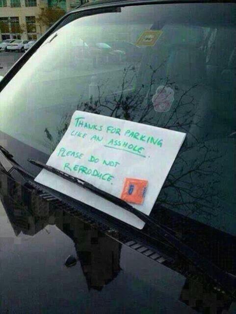Ovo je definitivno najbolja ideja za obavještavanje o krivom parkiranju koju sam do danas vidio.