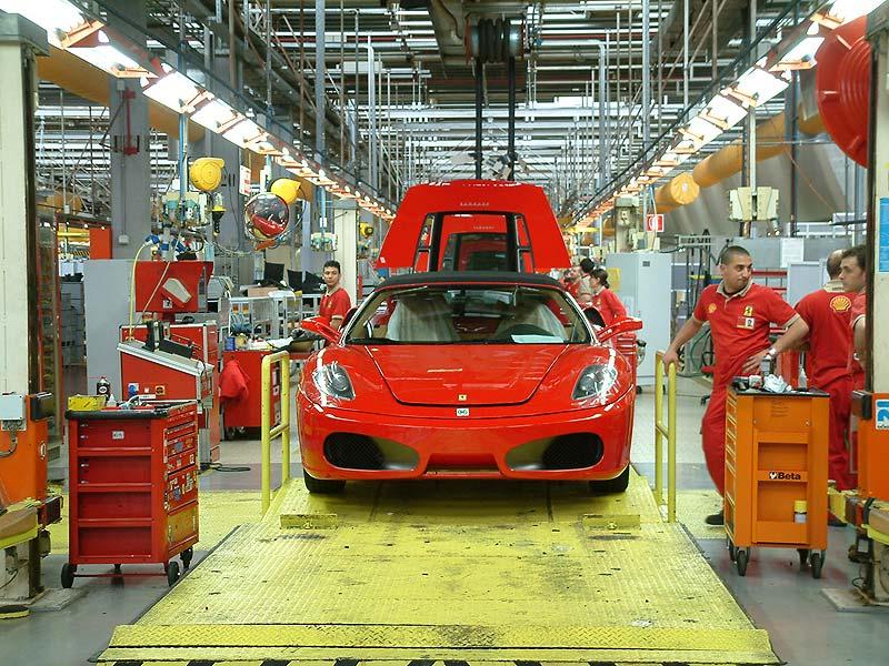 Proizvodnja Ferrarija