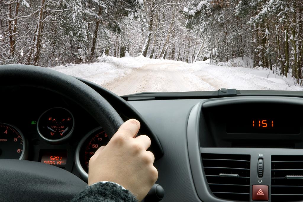 Vožnja na snijegu podrazumijeva glatke, oprezne i precizne pokrete upravljača.