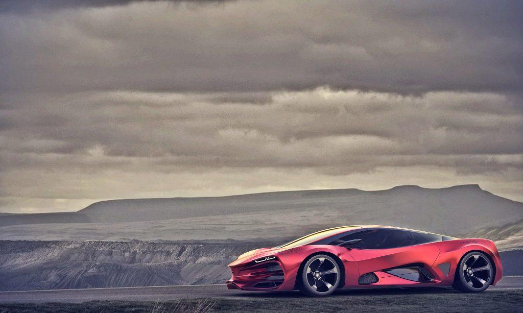 Dizajnom je Lada Raven super-automobil u pravom smislu te riječi