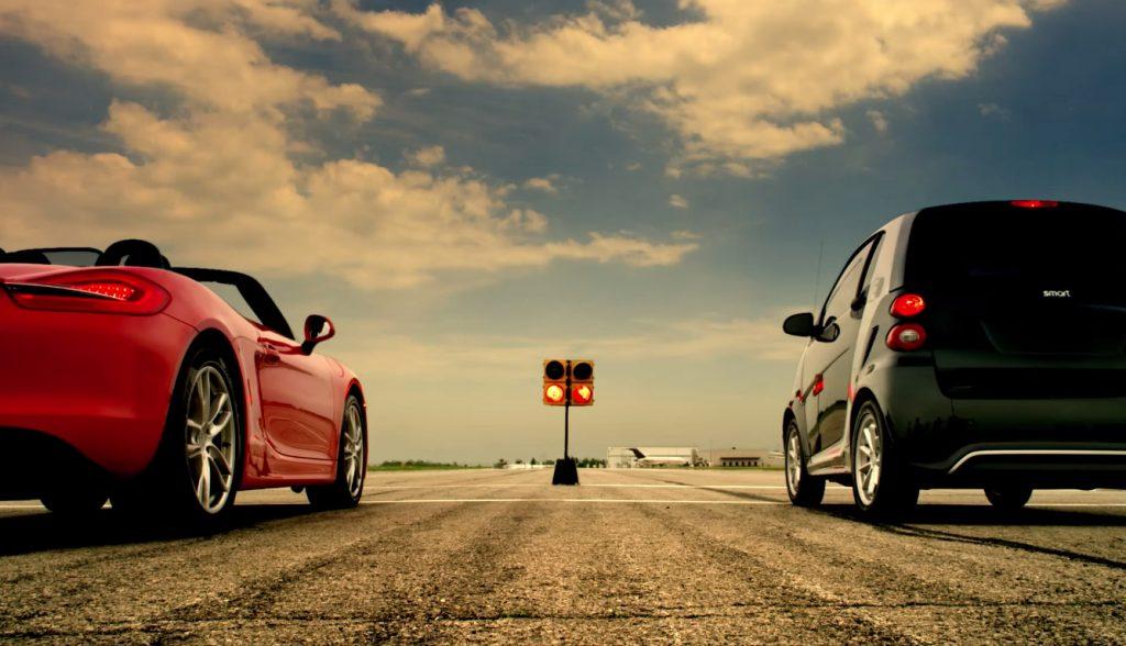 Smart protiv Porschea