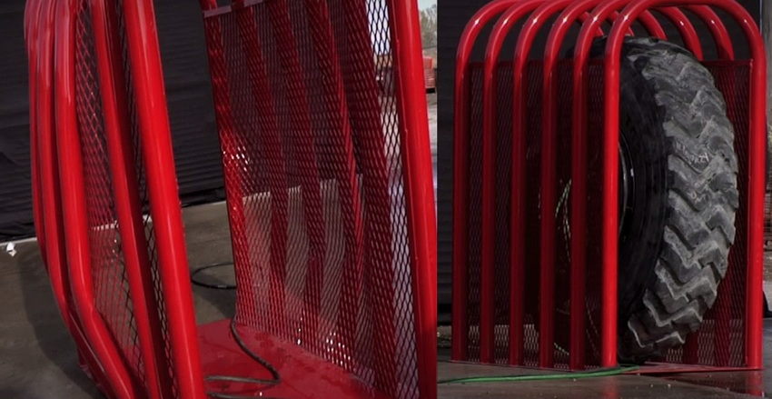 Kavezi koji jedva zadržavaju tlak i pucanje