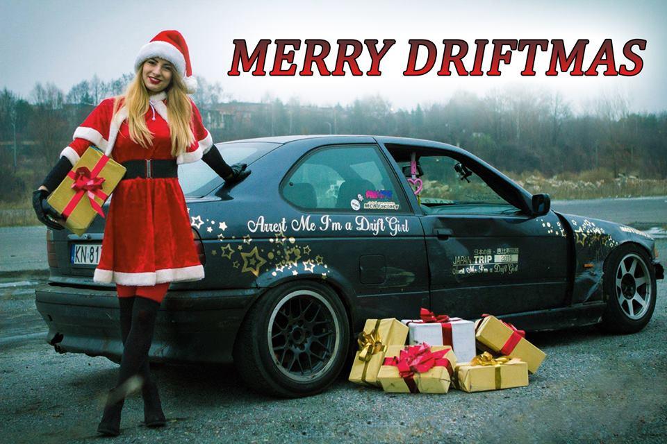 Merry Driftmas