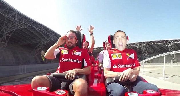 Modni mačak sada je već najbolji prijatelj s Fernandom Alonsom.