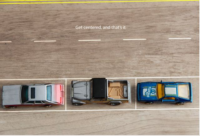 Ako ste završili u ovom položaju, čestitamo - savršeno sve parkirali svoje vozilo!