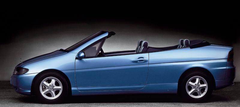 Jedna od opcija je frizerski automobil bez krova.