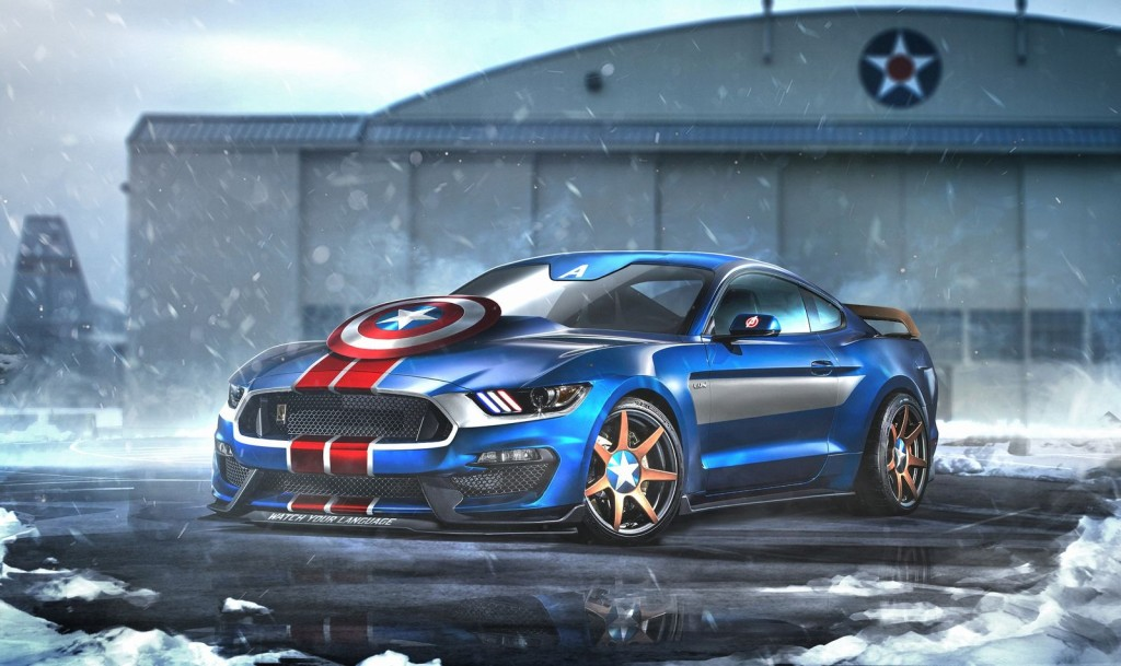 CAPTAIN AMERICA – FORD MUSTANG GT350R