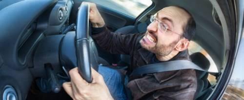 Ovako otprilike za volanom izgleda lice agresivnog se**nje.