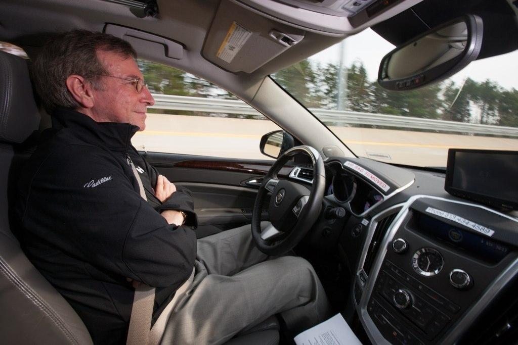 Zadovoljni korisnik samoupravljačkog automobila