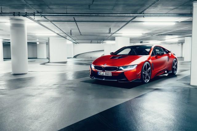 BMW i8 by AC Schnitzer Parkhaus vorne_72