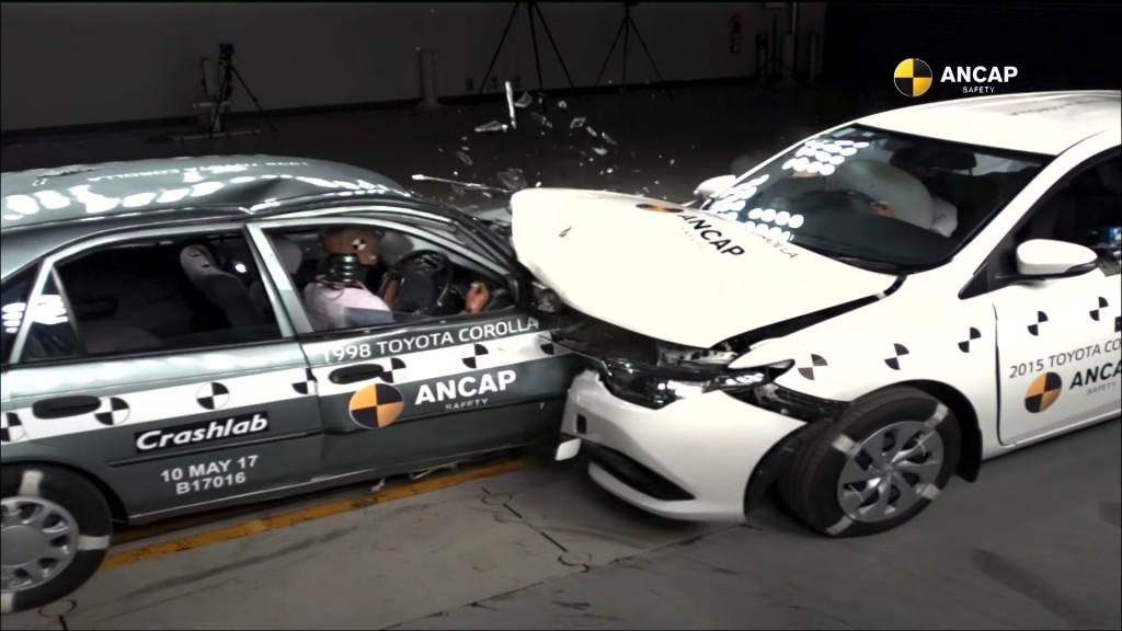 Test je proveden pri brzini od 64 km/h