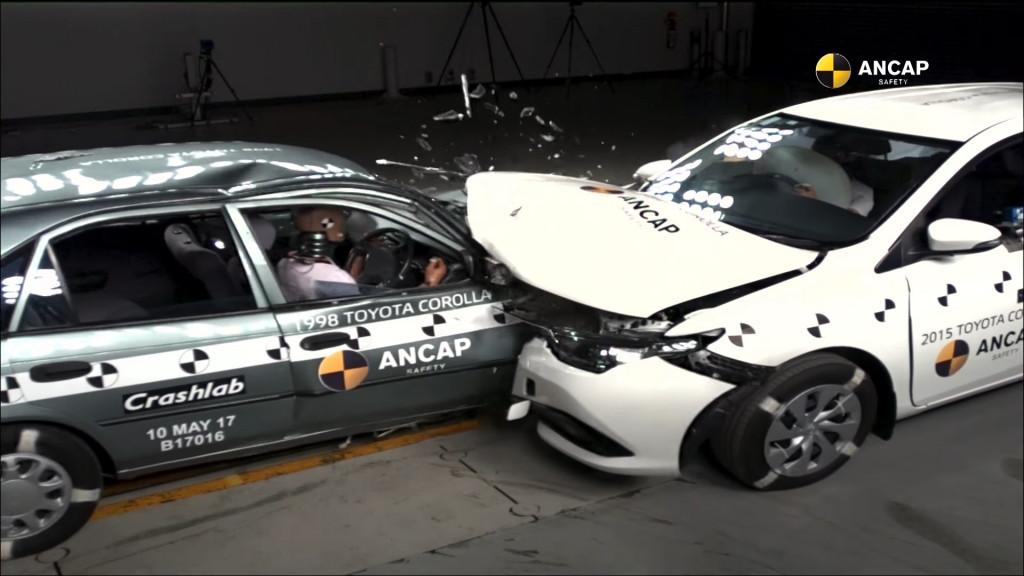 Koliko je sigurnost automobila napredovala u 20 godina?