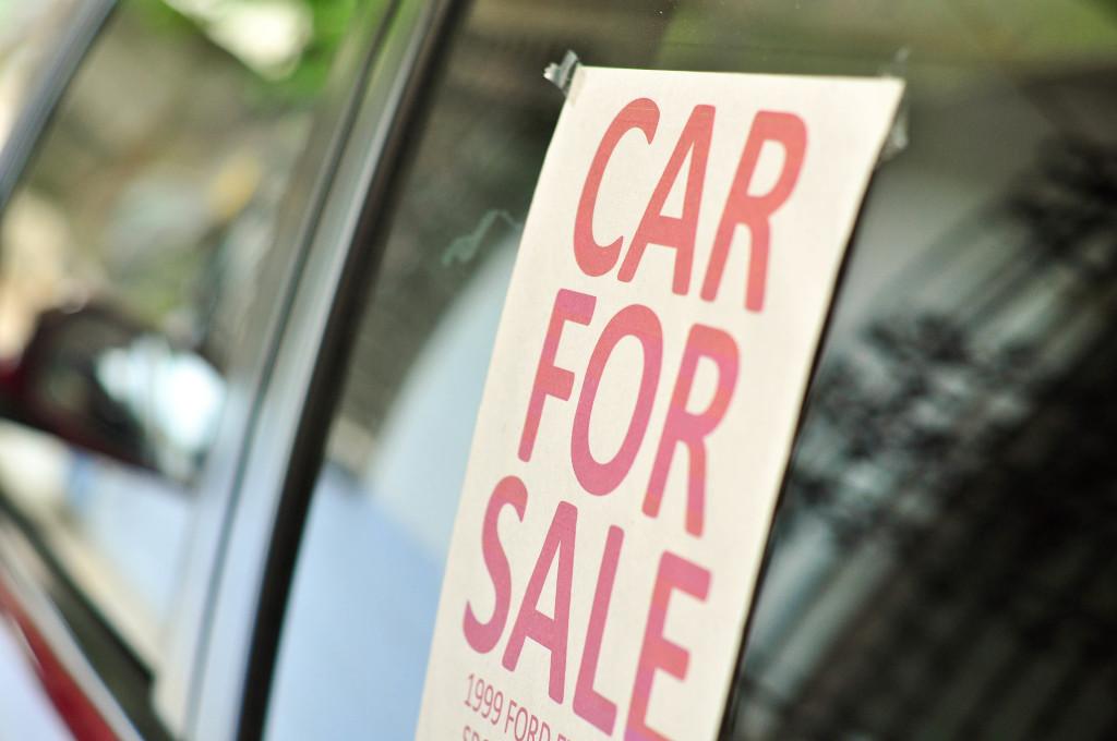 Jeste li ikada prodavali svoj automobil?