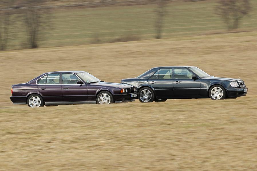 BMW M5 (E34) bio je jedina prava konkurencija Mercedesovom Hulku u odijelu.