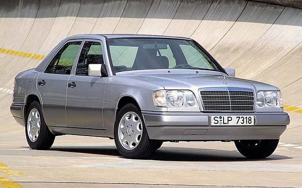Najveći broj W124-ki izgledao je otprilike ovako.