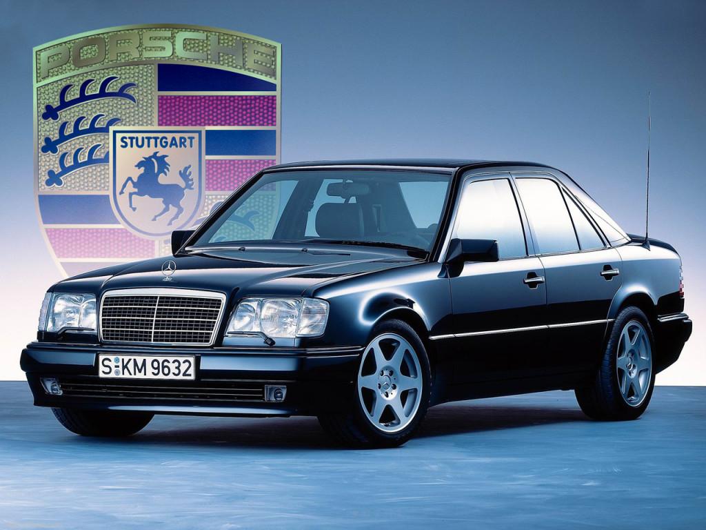 Mercedes-Benz 500E - plod ljubavi između tvrtki AMG i Porsche.