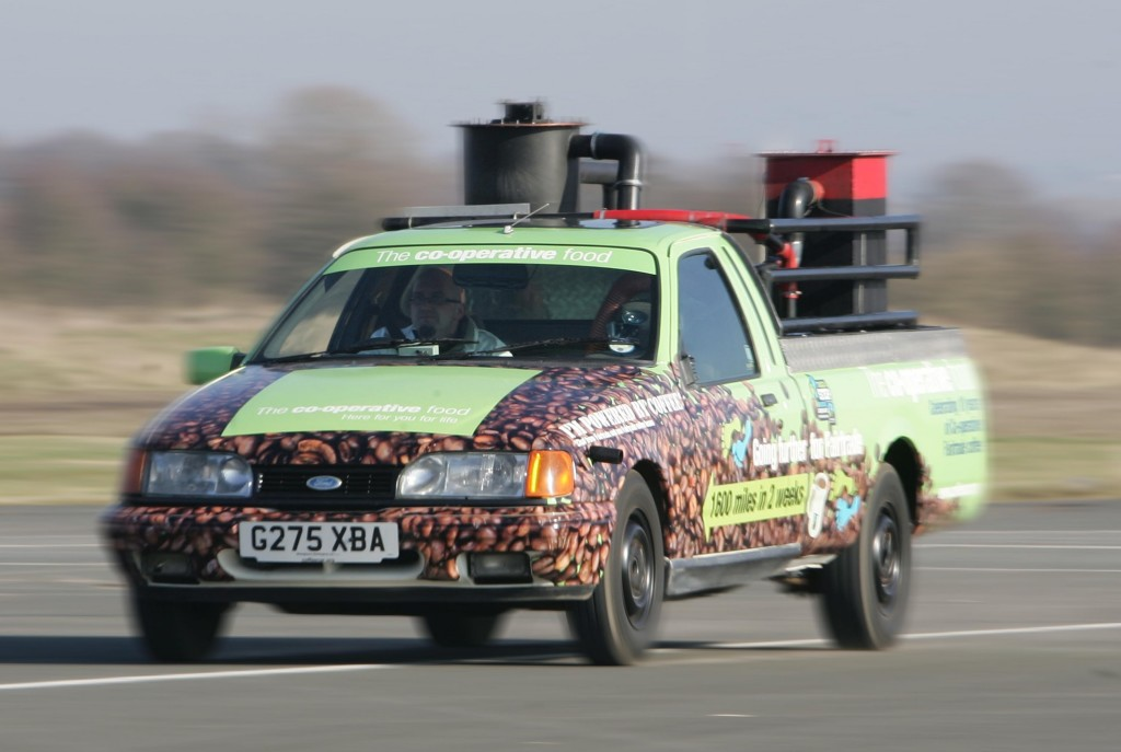 Coffee Car Tour Gasifier