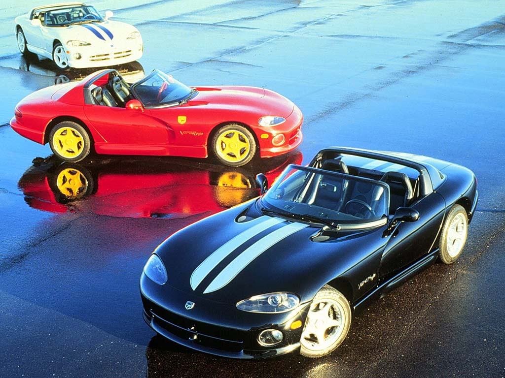 Dodge viper - jedan od najluđih automobila svih vremena.