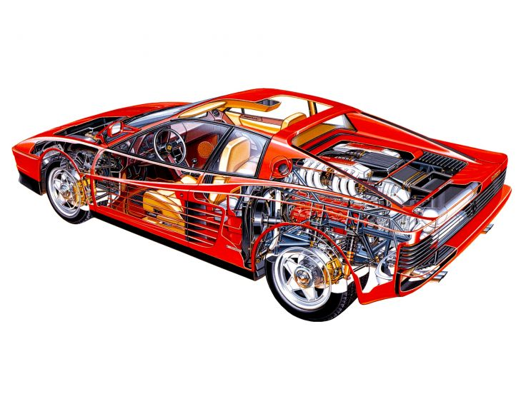 Legendarni nacrt isto toliko legendarnog automobila.