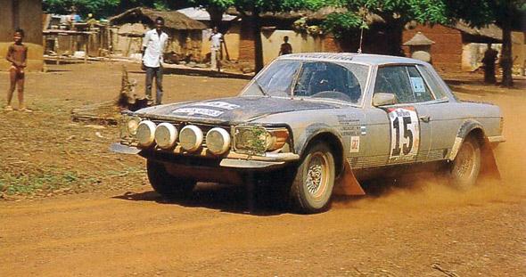 Mercedes-Benz i Rally