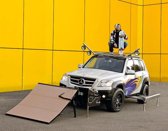 Ekstremni Mercedes GLK