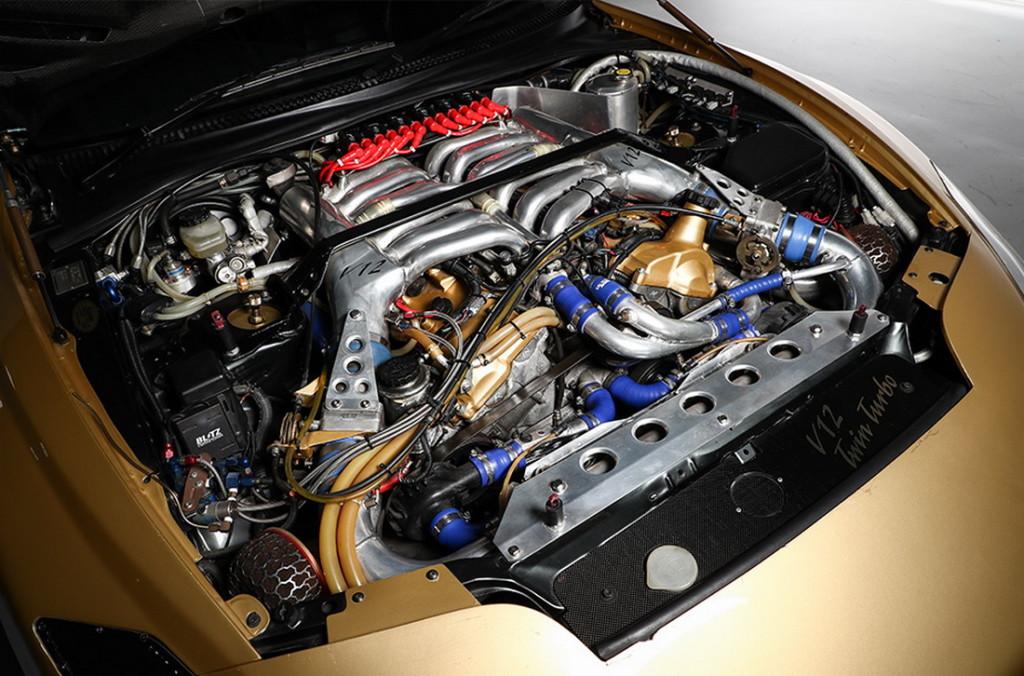 V12 umjesto 2JZ-a.