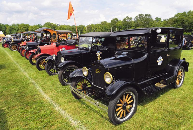 Okupljanje povodom stote obljetnice Fordovog Modela T