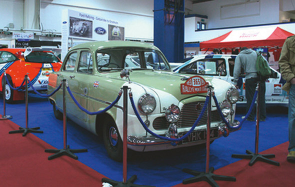 Maurice Gatsonides pobijedio je 1953 na Monte Carlo Rallyju u ovom Ford Zephyru