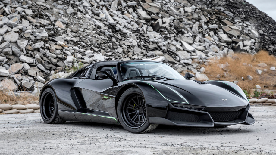 Rezvani Beast Alpha X Blackbird - Betmenov novi auto?