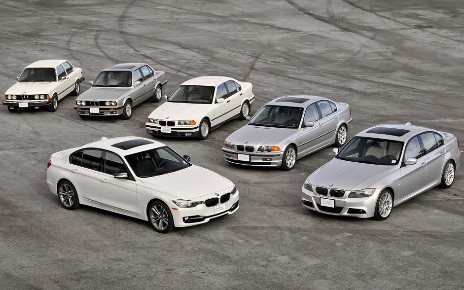 Šest generacija najuspješnijeg BMW-ovog modela.