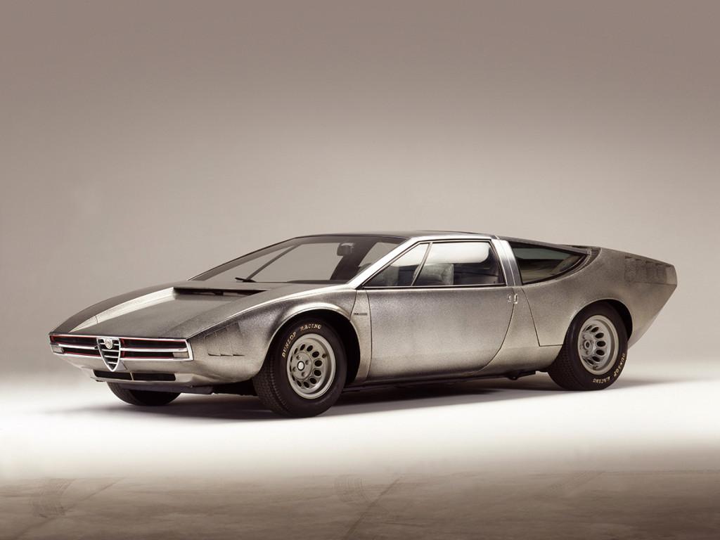 Alfa Romeo Iguana - eto kako izgleda boja sirovog metala.