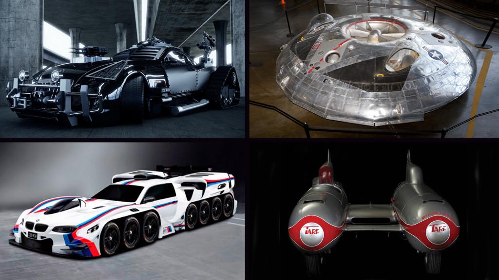 TOP 13: Najbizarnijih vozila ikad napravljenih, koji voze!