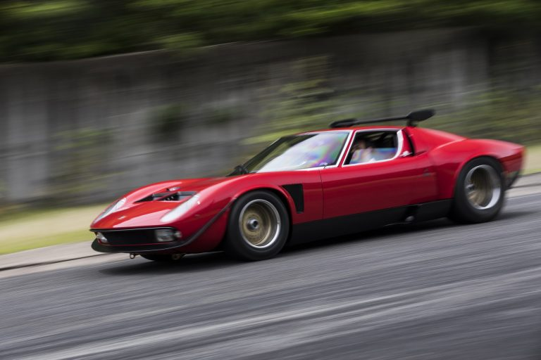 Lamborghini Miura SVR. Savršenstvo. Točka.