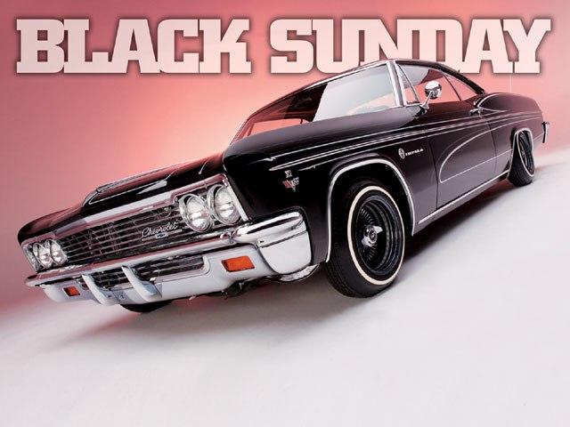 Crne automobile nedjeljom nije dopušteno voziti...