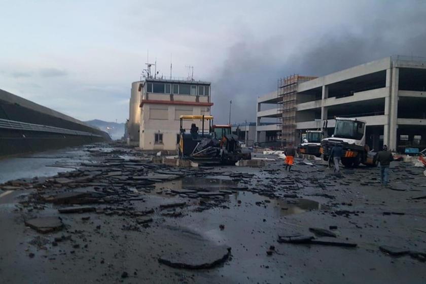 Stotine novih Maseratija izgorjelo u talijanskoj luci Savona