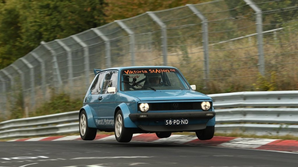 VW Golf MKII - Nurburgring