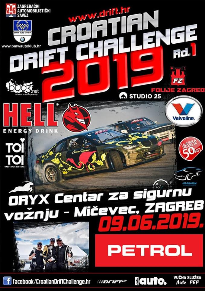 Croatian Drift Challenge 2019 Rd.1