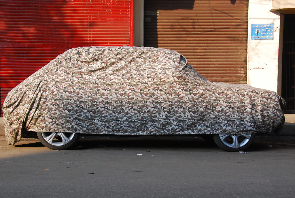 Cerada za auto pruža kvalitetnu zaštitu od vanjskih uvjeta.