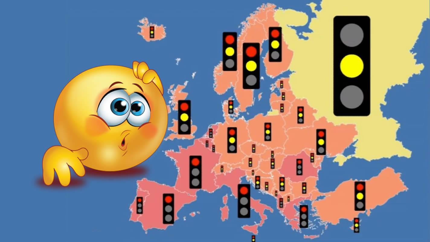 Pogledajte kako funkcioniraju semafori u svim europskim državama!