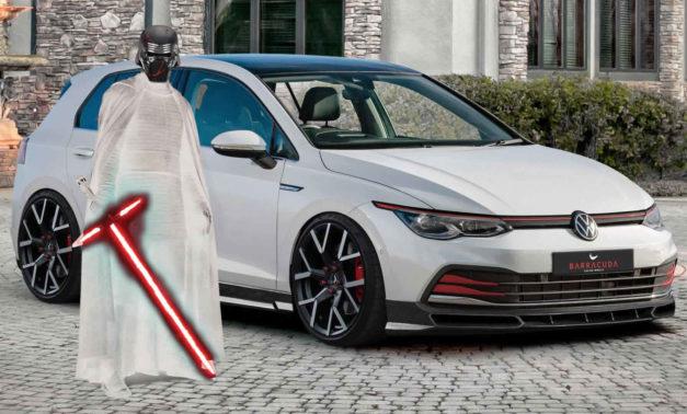 Volkswagen Golf kao Kylo Ren u negativu