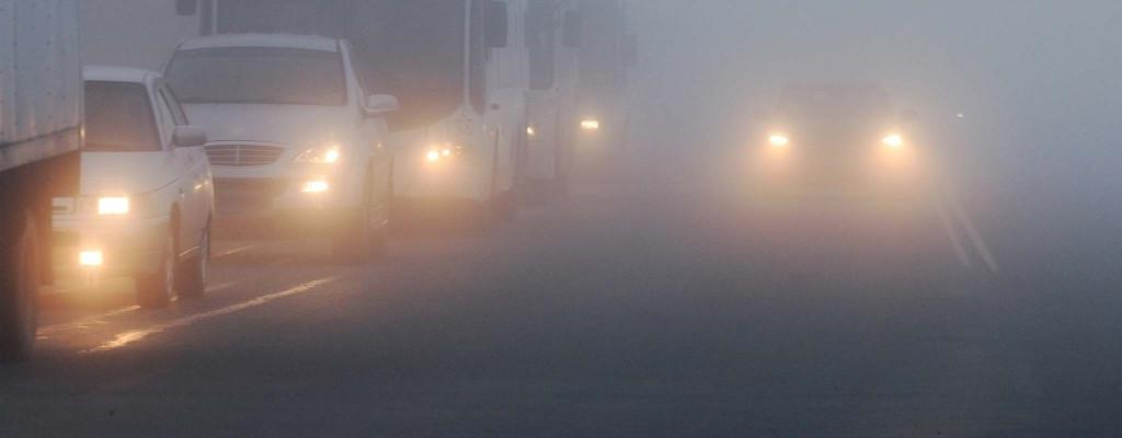koristiti svjetla za maglu