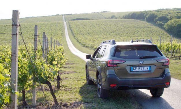Novim Subaru Outbackom do Baranje